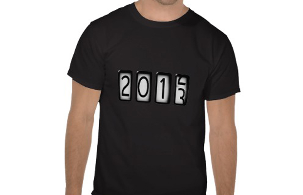 2013 New Years Odometer Custom Tee Design main image