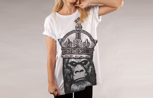 Daily Tee Kong Organic t-shirt design by by Paul Dickinson main image