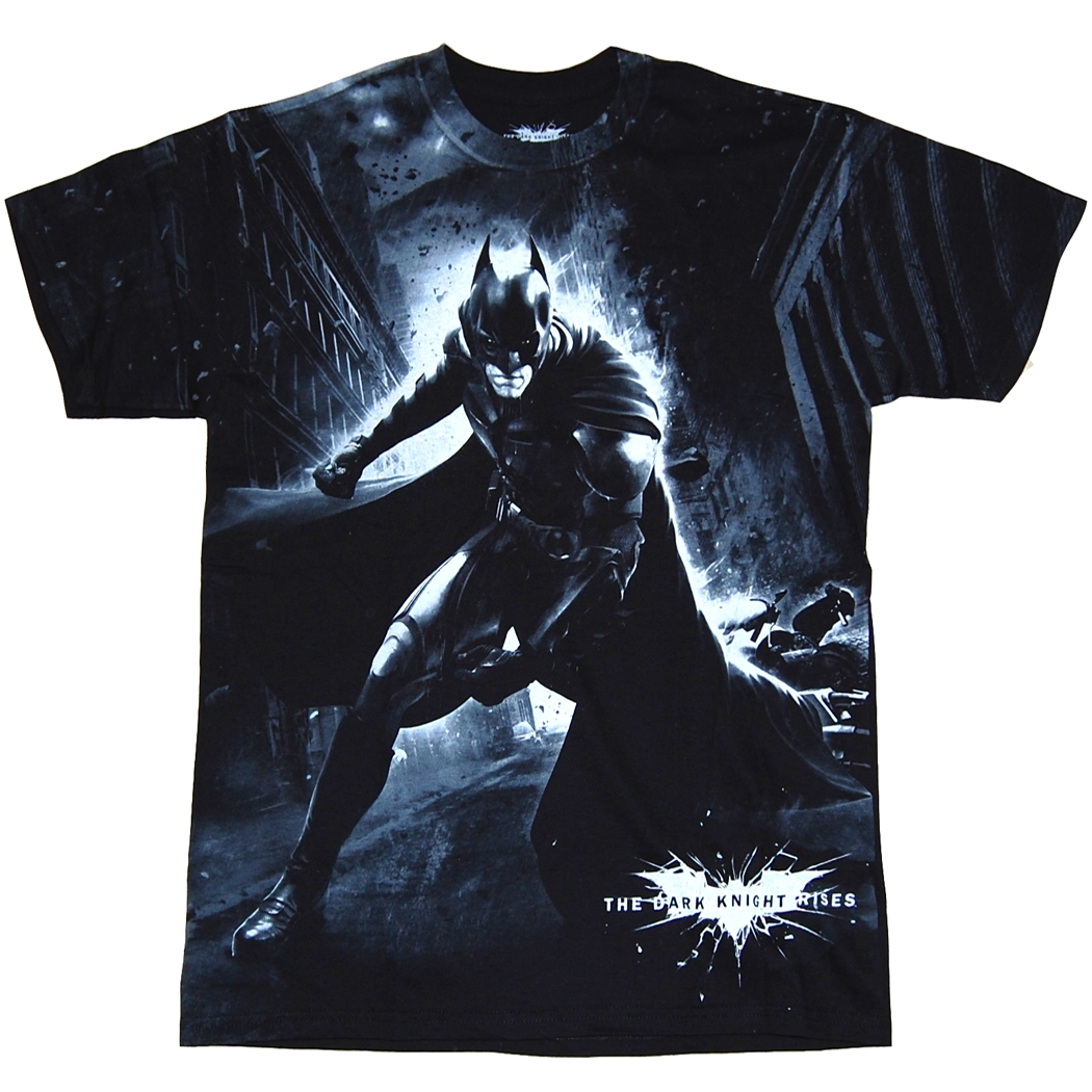 Dark Knight Rises Epic Battle T-Shirt custom design