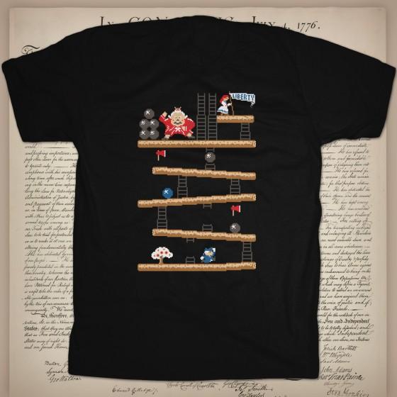 Donkey King custom t-shirt design