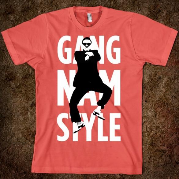 GANGNAM STYLE (STYLIN) custom t-shirt design