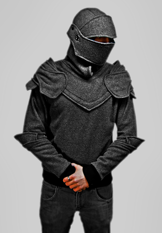 GREY KNIGHT custom hoodie design