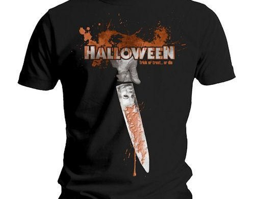 Halloween Men's Trick, Treat Or Die T-Shirt custom design