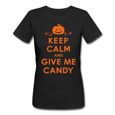 Keep Calm and Give Me Candy Halloween T-Shirt custom design