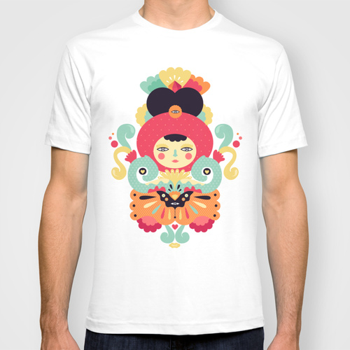 Keiko custom t-shirt design by Muxxi
