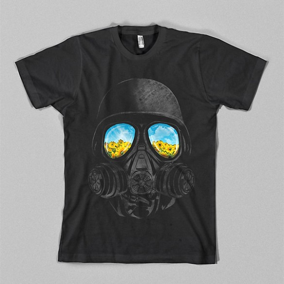 Longing to breathe by kookylove custom t-shirt design