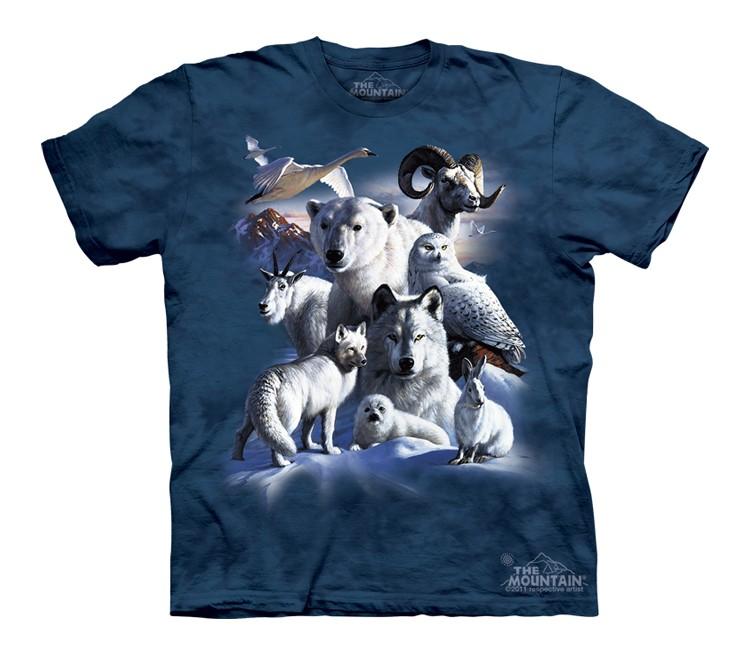 Polar Animals Custom T-shirt Design