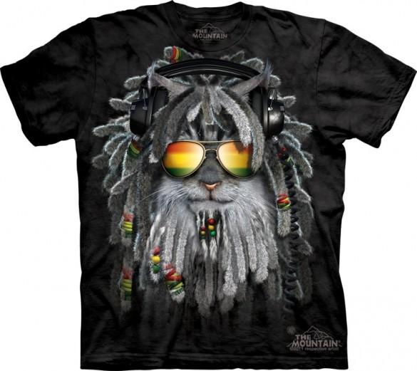 Rastafurrian Kitten custom t-shirt design from The Mountain