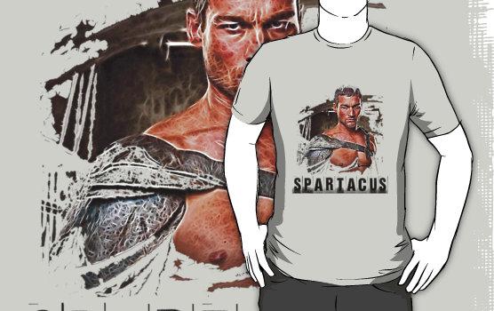 Spartacus custom tee design