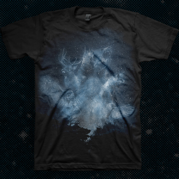 Spirits of the forest custom t-shirt design