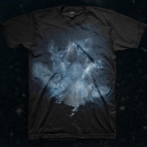 Spirits of the forest custom t-shirt design