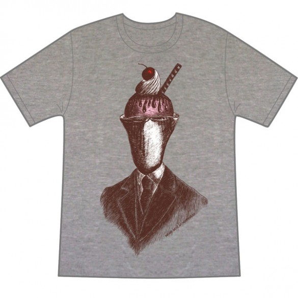 Sundae Best on Melange custom t-shirt design by vonmonkey