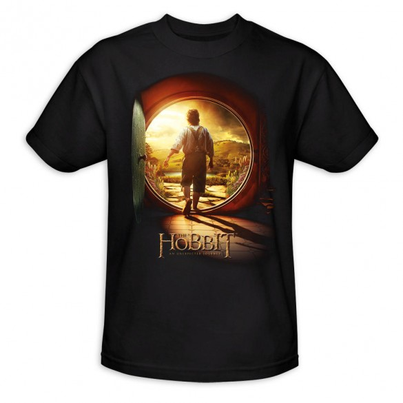 The Hobbit An Unexpected Journey T Shirt official t shirt design 585x585 The Hobbit: An Unexpected Journey, 12 beautiful official t shirt designs
