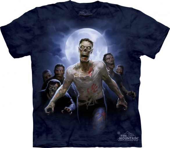 Zombie Horde zombies Halloween T-Shirt custom design