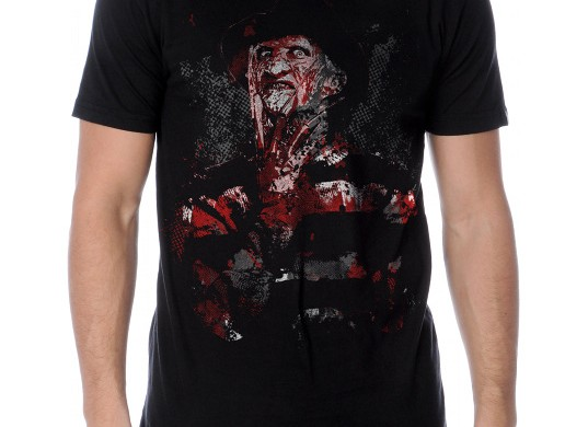 fright rags freddie Halloween T-Shirt custom design