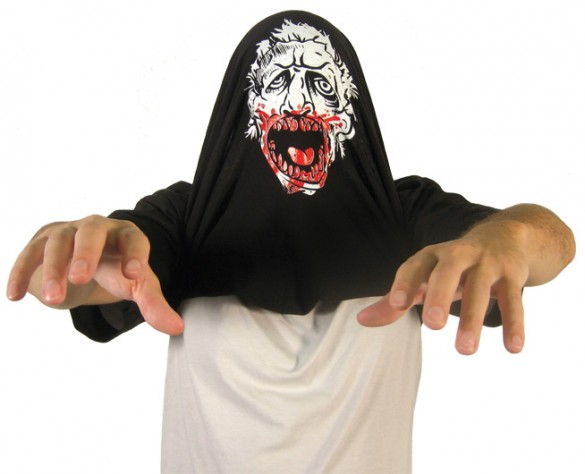 turn into male zombie Halloween T-Shirt custom design