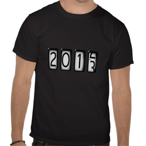 Daily Tee New Years Odometer T Shirt Design Fancy