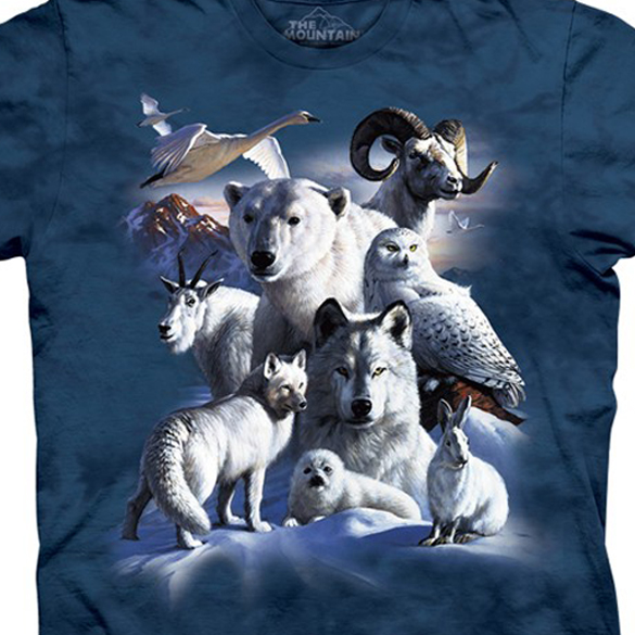 Artic Animals Custom T-shirt Design