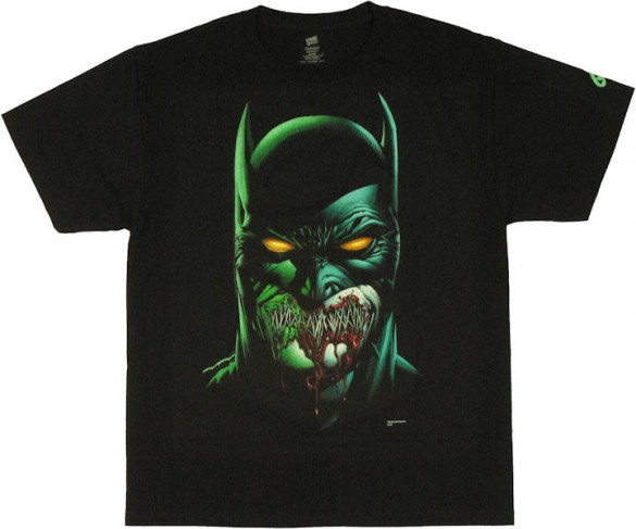 BATMAN ZOMBIE T-Shirt design by David Finch