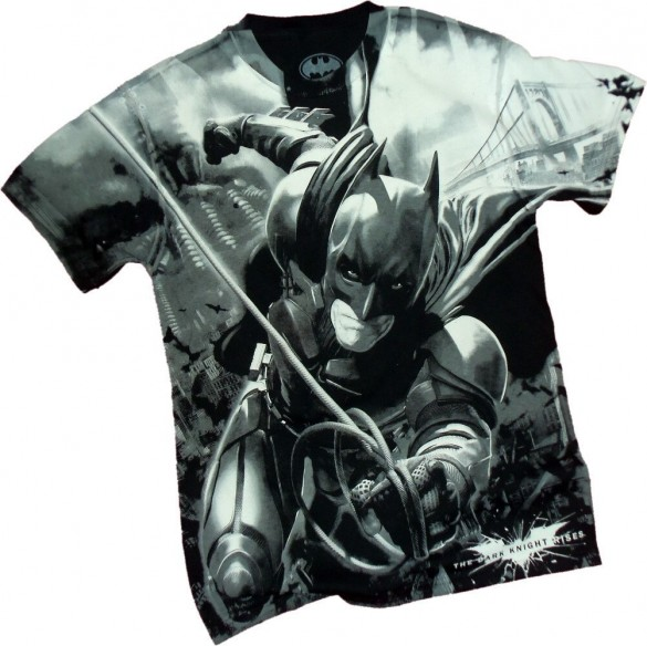 Batman Dark Knight Rises Risen One Mens T-shirt custom design