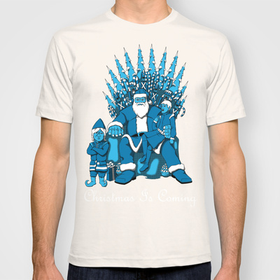 Christmas Is Coming Custom T-shirt Design