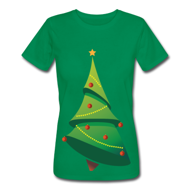 Christmas Tree T-Shirt Design Custom