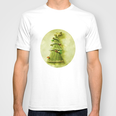 Christmas Tree T-shirt Custom Design