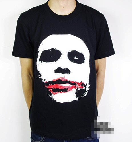 Creative Movie T-shirt Batman, the Dark Knight, Joker T-shirt Cosplay Costume custom t-shirt design