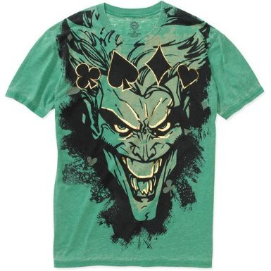 DC Comics Batman the Joker Mens T Shirt custom design