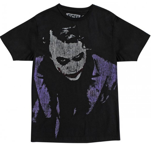 Dark Knight and Joker Tees from French Connection the joker batman the dark knight custom t-shirt design