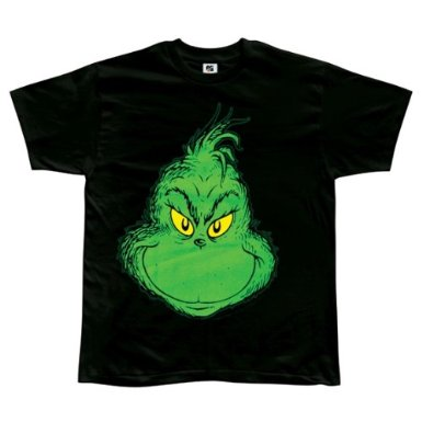 Dr. Seuss Grinch T-shirt Design