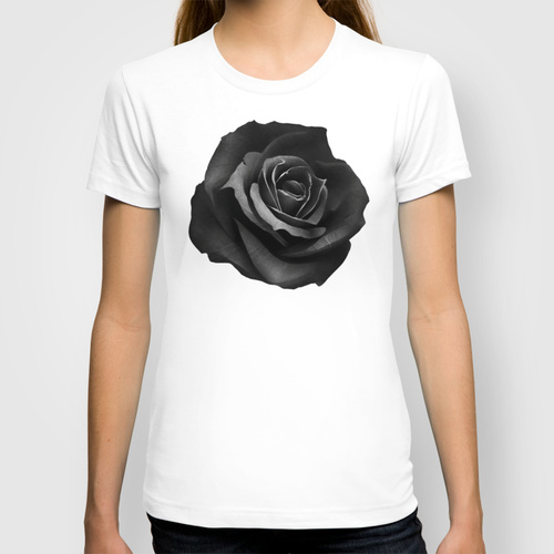 Fabric Rose custom tee design by Ruben Ireland