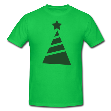 Funky Cool xmas Christmas tree T-Shirts Design