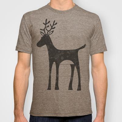 Genevieve's Reindeer Custom T-shirt Design