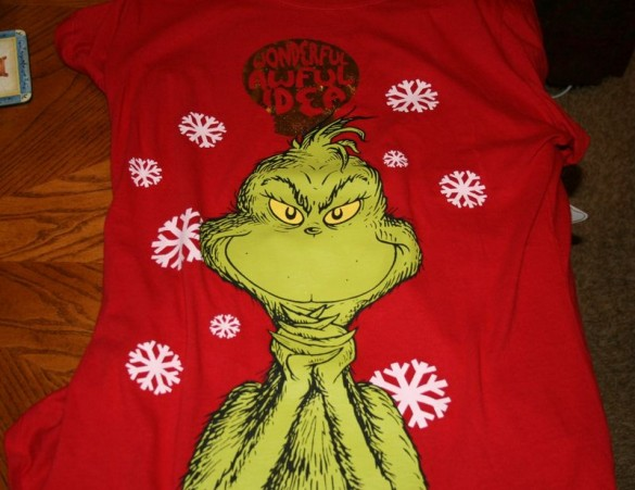 Grinch  Custom T-shirt Design