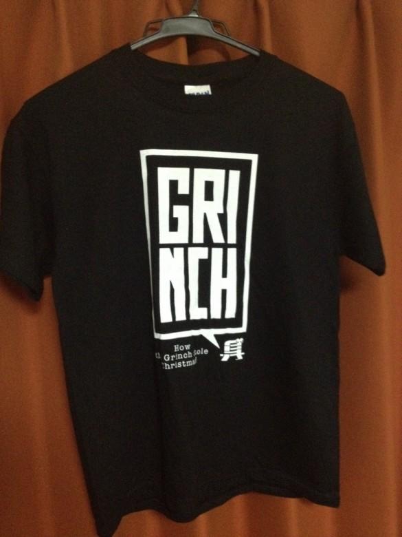 Grinch T-shirt Design