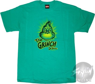 Grinch T-shirt Design