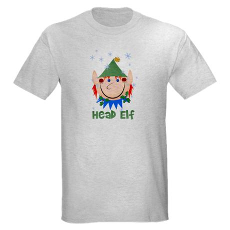 Head Elf T-Shirt Design