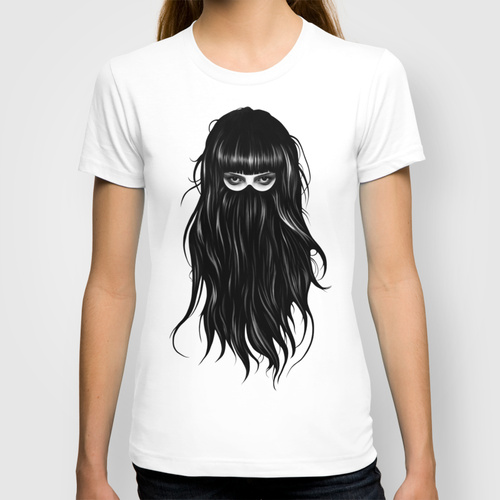 It girl custom tee design by Ruben Ireland