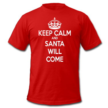 Keep Calm Santa T-Shirts