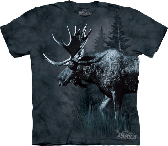 Moose custom t-shirt design from the mountain