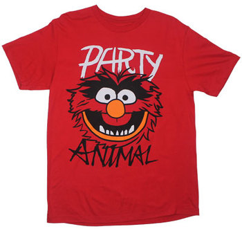 Party Animal Custom T-shirt Design