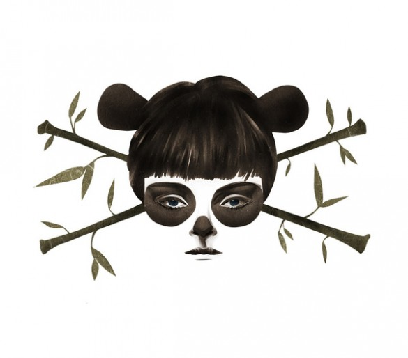 Pirate Panda custom t-shirt design by Ruben Ireland