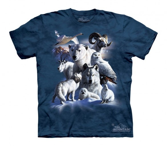 Polar Animals Custom T-shirt Design