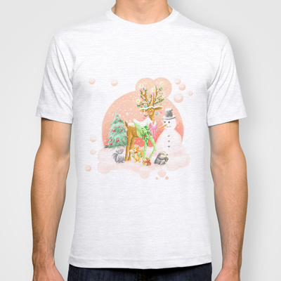Reindeer Before Christmas T-shirt Design