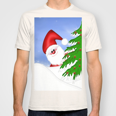 Santa Claus custom t-shirt design