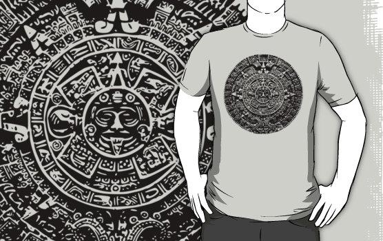 Silver calendar custom t-shirt design