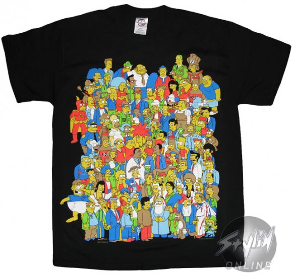 Simpsons Group T-Shirt