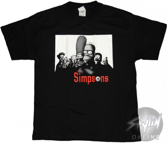 Simpsons Mobster T-Shirt