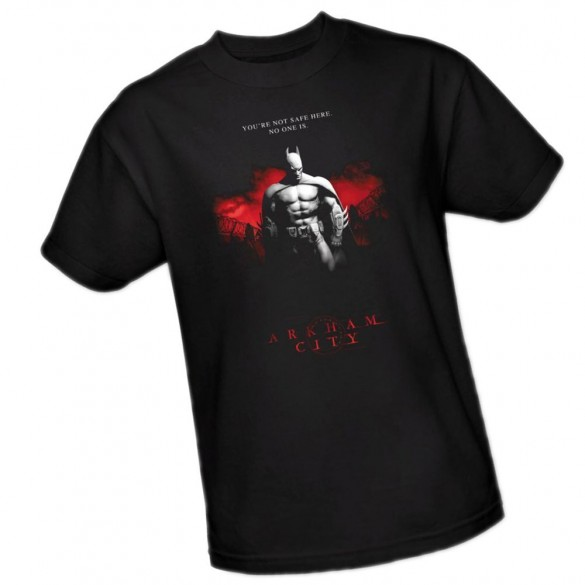 Standing Strong -- Batman Arkham City Adult T-Shirt